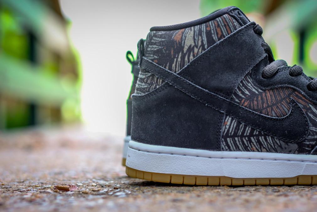 Nike SB Dunk High Pro Fern Rainforest Black:Black-Medium Olive 305050-025