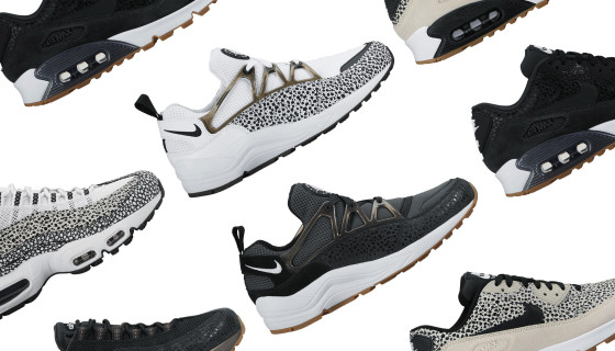 Nike Wmns Black & White Safari Pack PRM