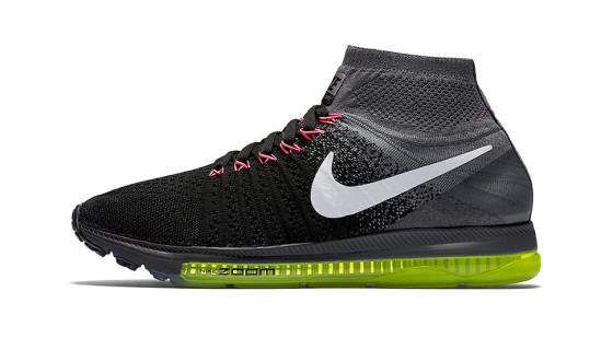 Nike Zoom All Out Flyknit Black Crimson