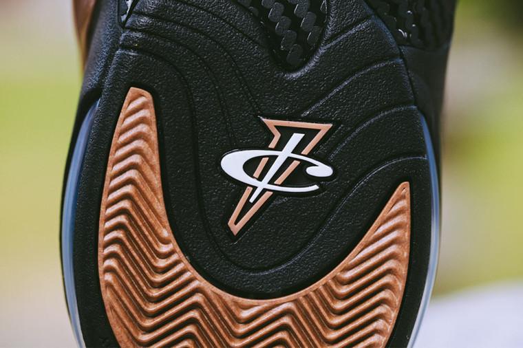 Nike Zoom Penny VI 'Balck:Copper'  749629-001