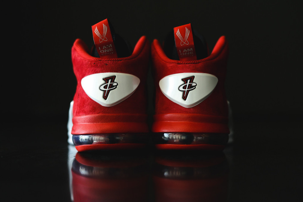 Nike Zoom Penny VI  University Red:Black-White 749629-600