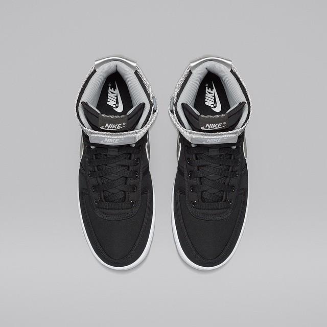 NikeLab Vandal High Black:Silver