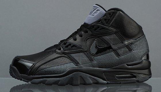 Nike Air Trainer Sc High Qs Black Sneakers Addict