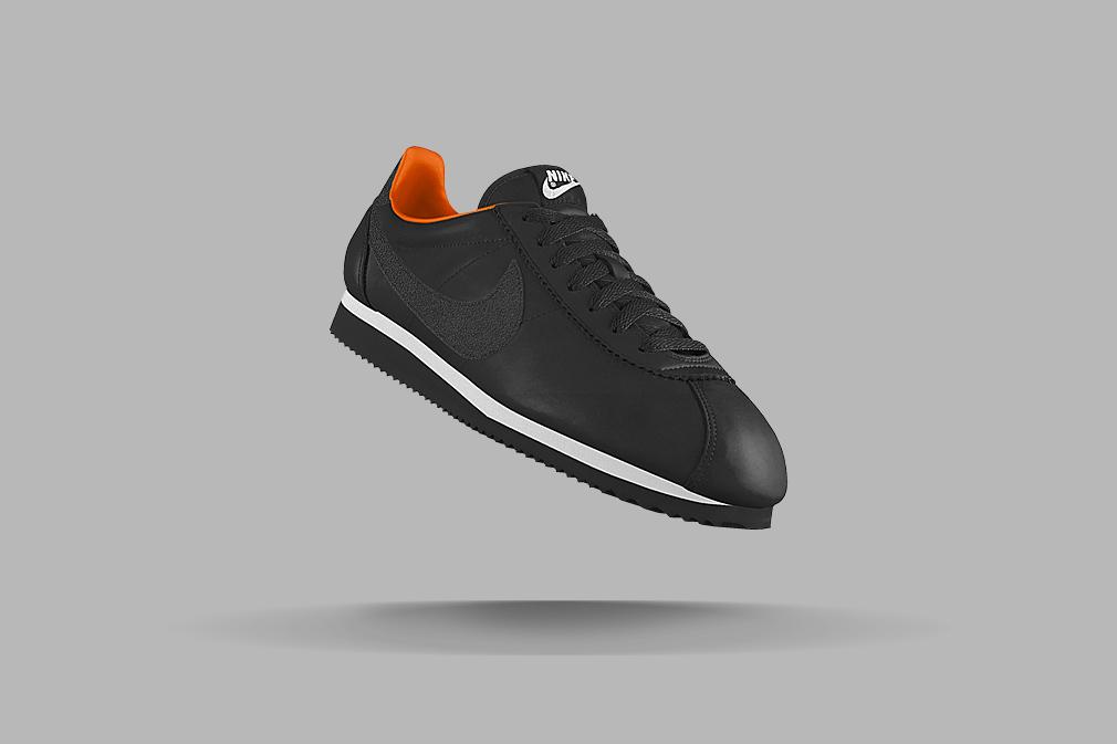 NikeiD-Cortez-Black