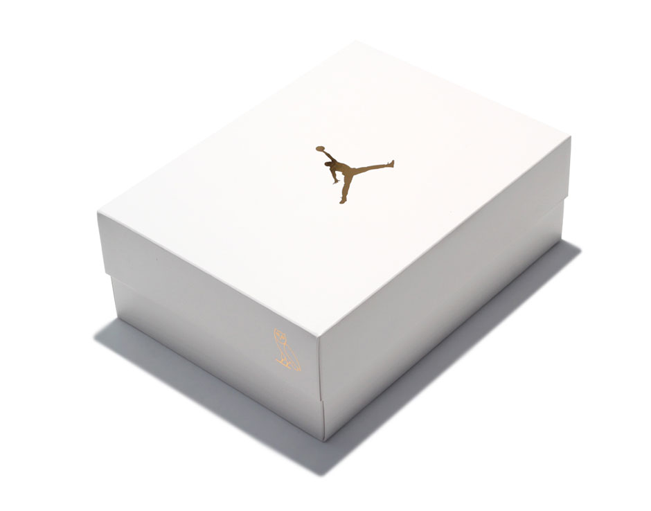 Official Packaging AIR JORDAN 10 'OVO'SUMMIT WHITE:METALLIC GOLD-WHITE 819955-100