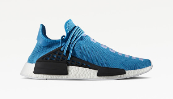 Pharell Williams x Adidas NMD HU Blue