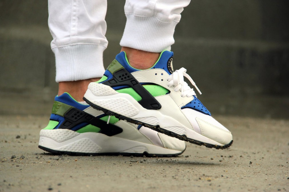 Pedram Ghanimati - Nike Air Huarache Scream Green 1999