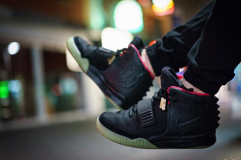 Philipp Se - Nike Air Yeezy 2 'Black:Solar Red'