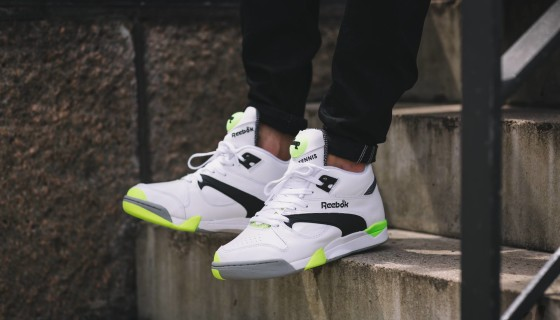 "Reebok Court Victory Pump ""Solar Yellow"""