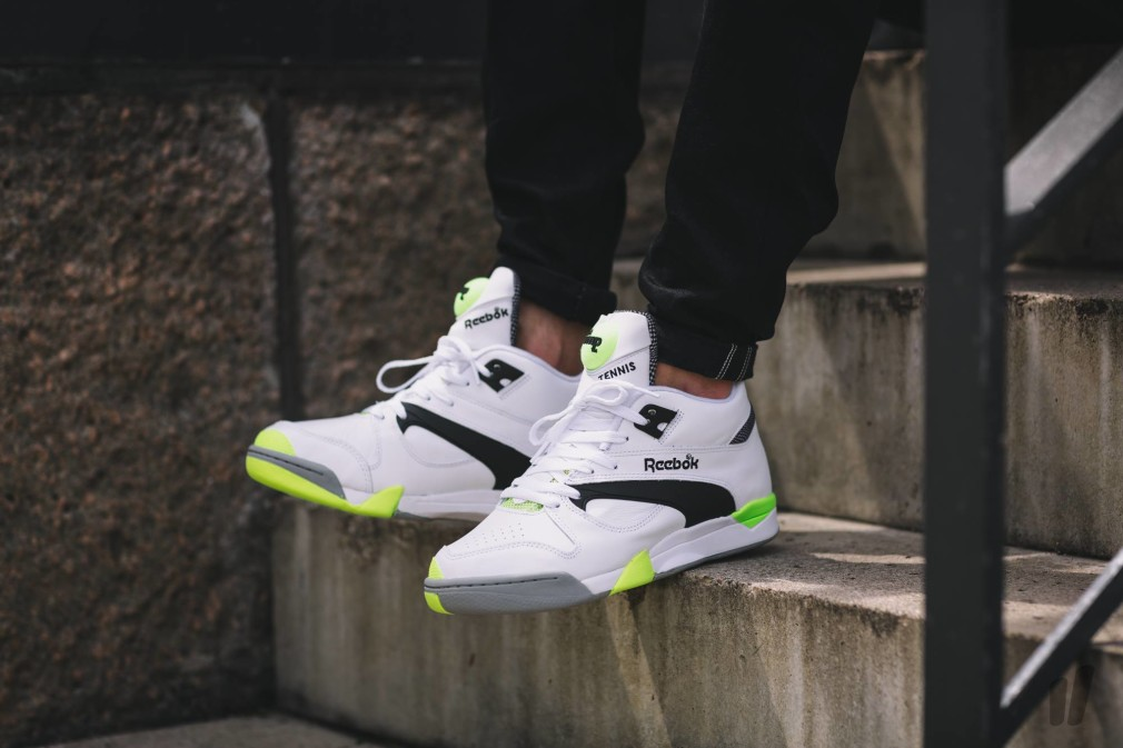 Reebok Court Victory Pump %22Solar Yellow%22 2