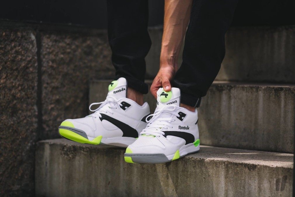 Reebok Court Victory Pump %22Solar Yellow%22 3