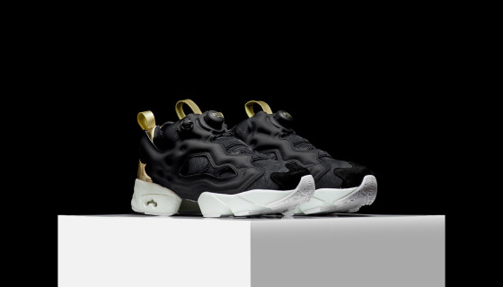 Reebok Wmns Insta Pump Fury PM Golden Foil