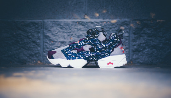 "Reebok Insta Pump Fury ""Orchard"" Du Splatter Pack"
