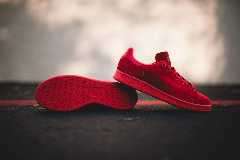 Adidas Stan Smith Red Power Red