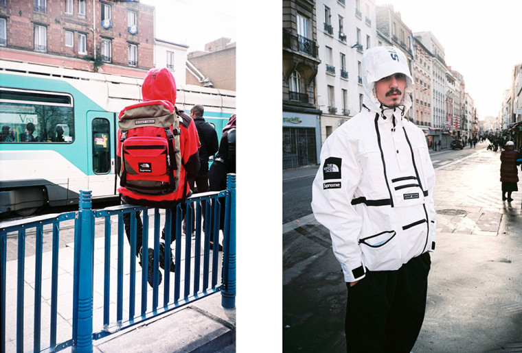 Supreme x The North Face SS16