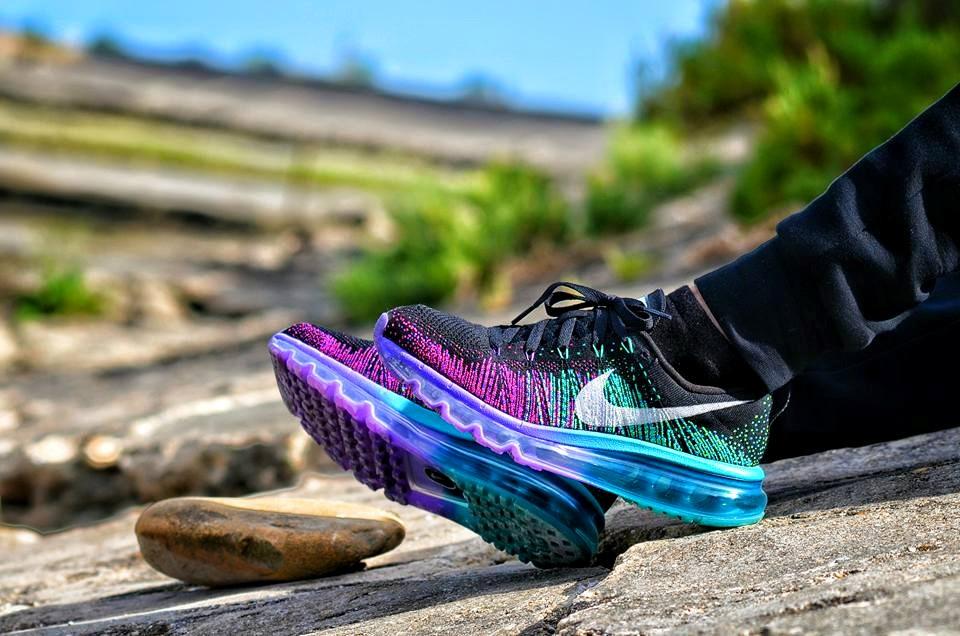 Snea Kers -  Nike Flyknit Max 'Purple Venom'