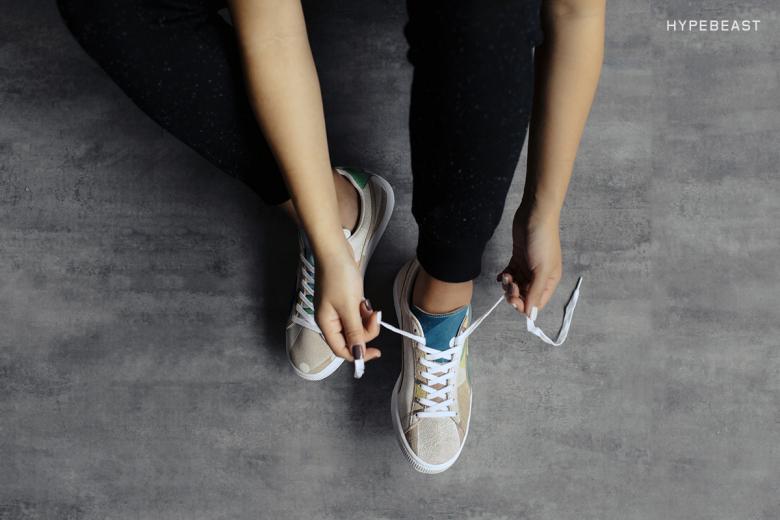 Spoken Words Project X Puma Suede Quot Ewohaku Quot Sneakers Addict