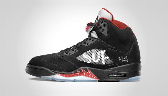Supreme x Air Jordan 5 – Second colorway
