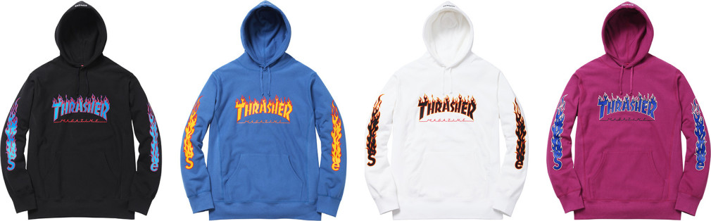Supreme x Trasher 2015 Collection