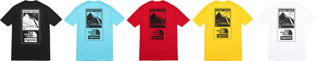 SupremexTheNorthFaceSS16 Second Drop 1