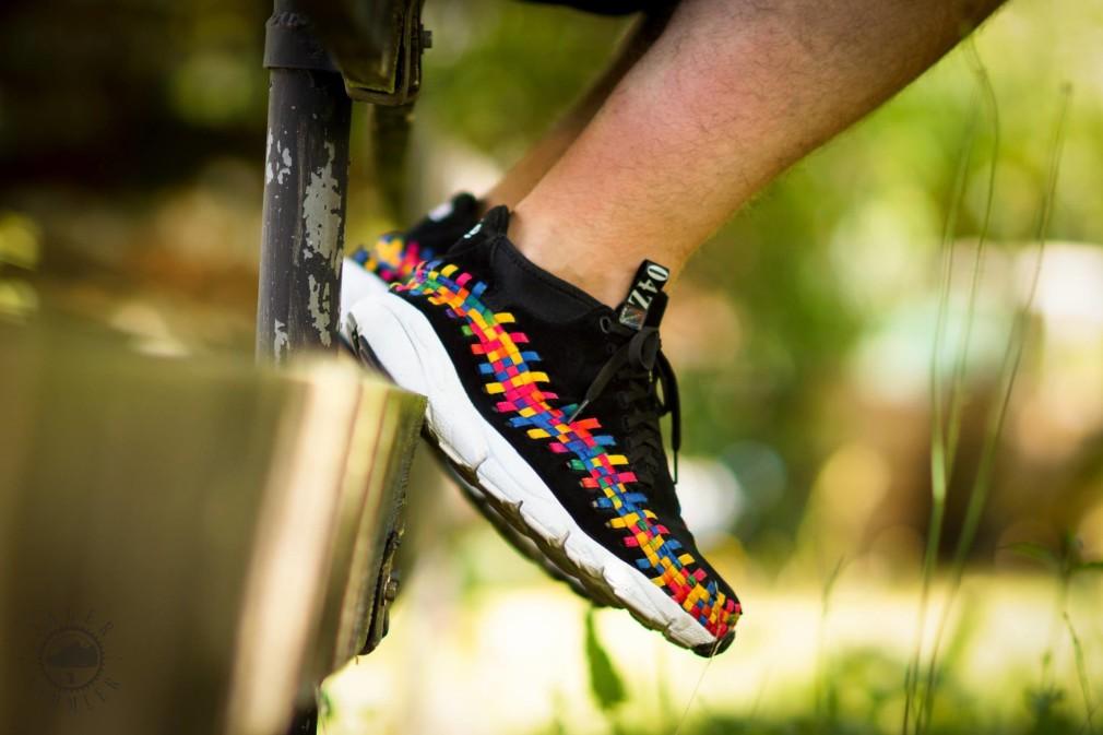 Theo Przy - Nike Footscape Woven Chukka 'Rainbow'