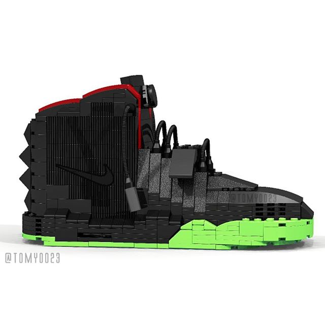 Tom Yoo NIke Air Yeezy LEgo