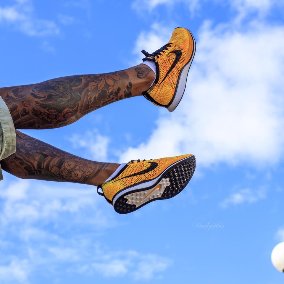 Trim Stupidino - Nike Flyknit Race Orange
