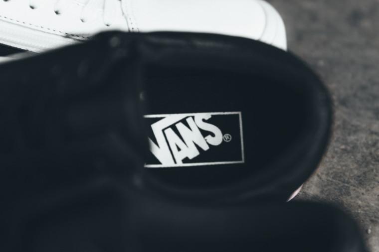 Vans 2015 Premium Leather Old Skool Zip Collection