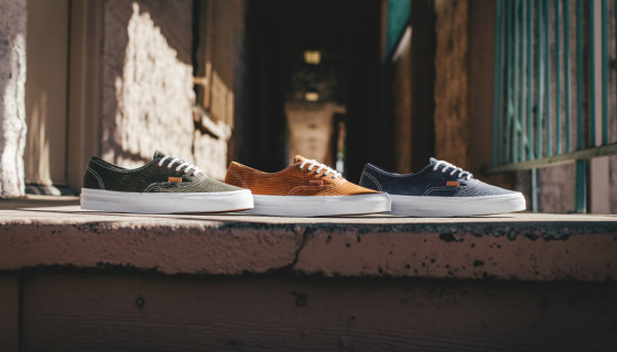 "Vans CA Authentic ""Washed Herringbone"" Pack"