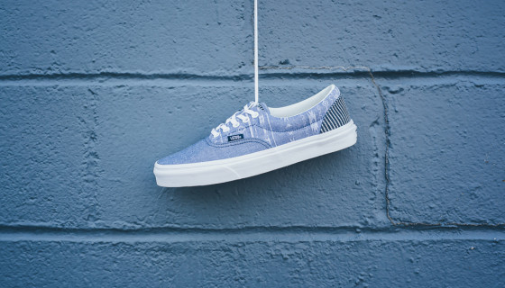 Vans Era 'Ikat & Stripes' Denim