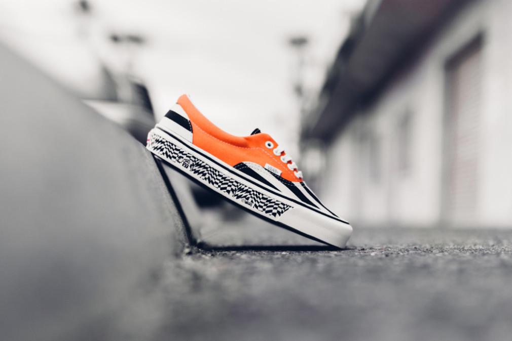 Vans Vault OG Era LX  Black Stripe:Mandarine Orange VN-0OZDGEW