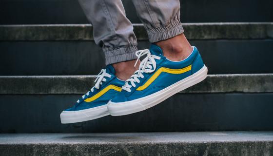 """Vans Vault OG Style 36 LX """"Moroccan Blue"""""""