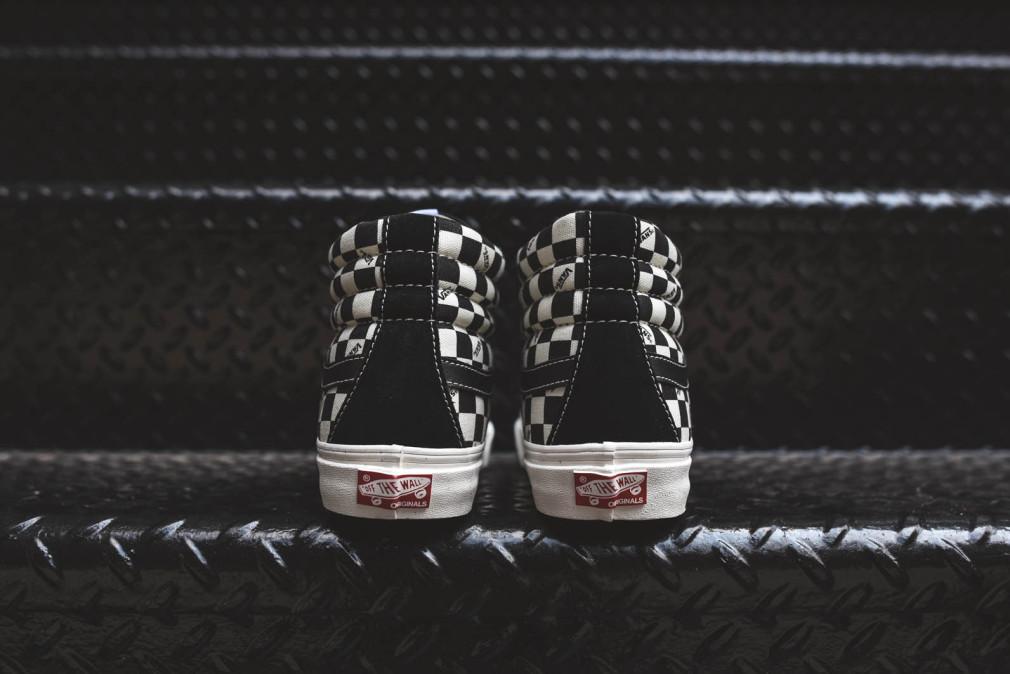 Vans Vault Sk8-Hi OG LX - Checkerboard