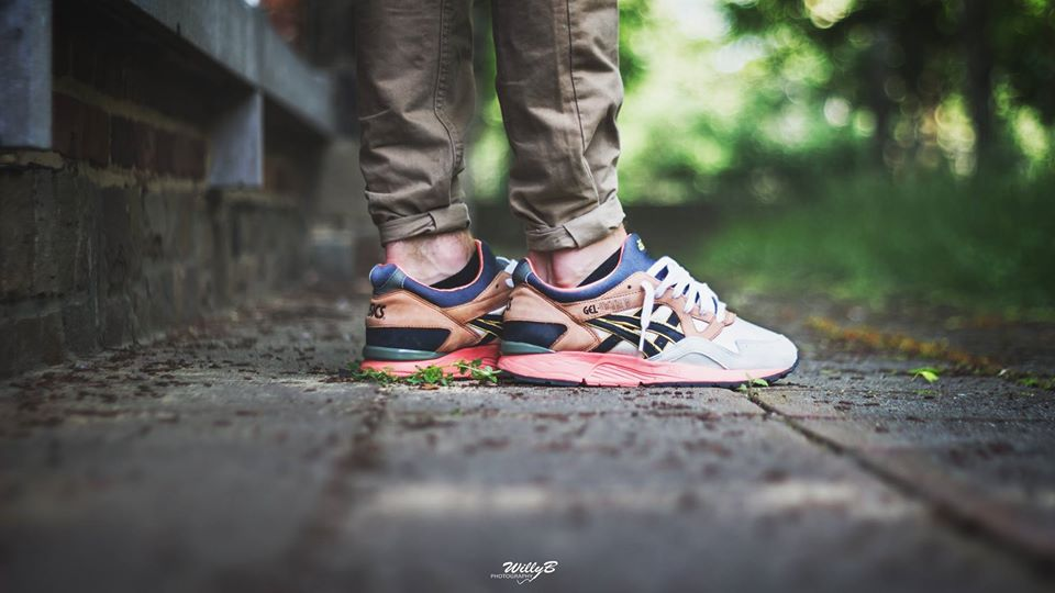 William Herson - Asics Gel Lyte V Midnight Bloom