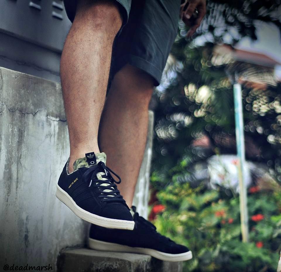Wong Kok Yoong - Bape x UNDFTD x Adidas Consortium Campus