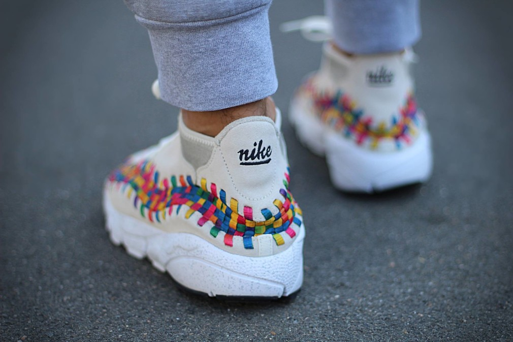 Yanice Liheouil - Nike Air Footscape Woven Rainbow