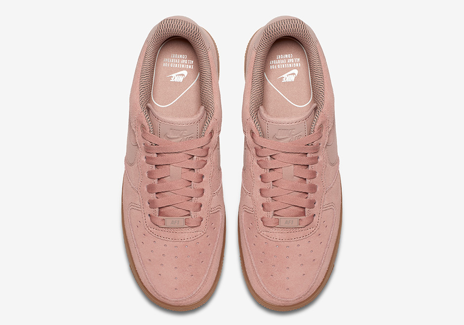 AA0287-600 Nike Air Force 1 Low Particle Pink