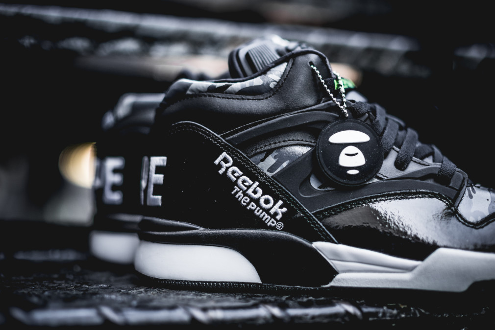 AAPE by A Bathing Ape x Reebok Pump Omni LitePacker Preview: launching 9.26.15)