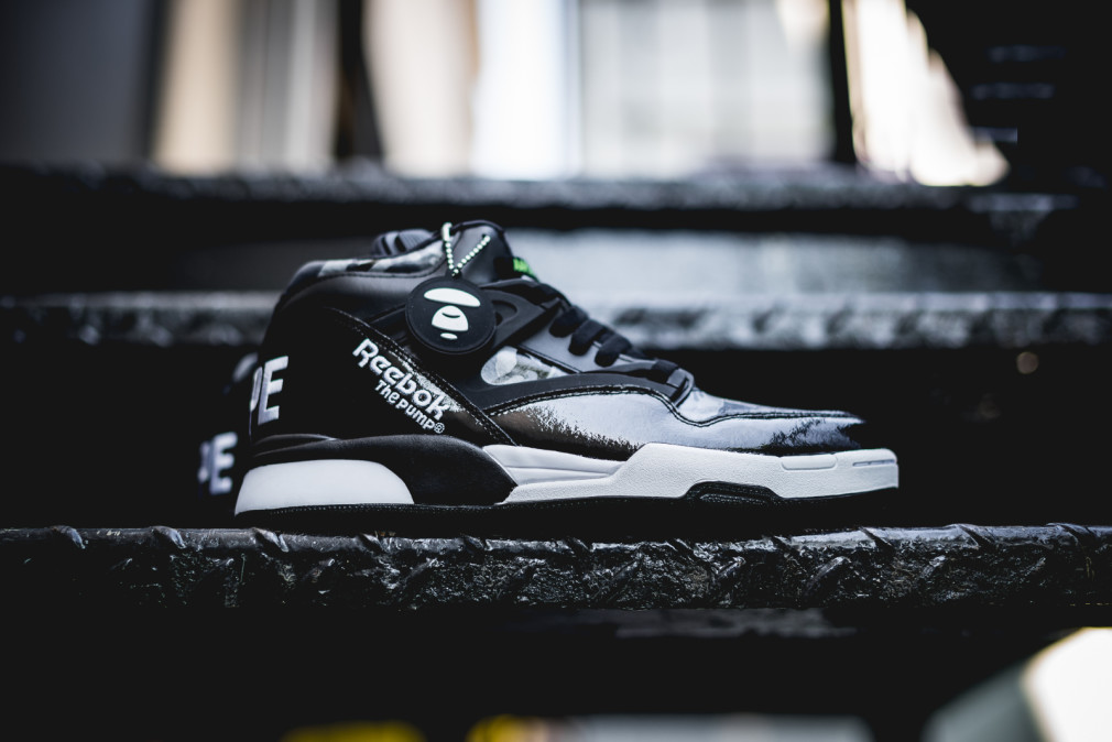 AAPE by A Bathing Ape x Reebok Pump Omni Lite (Packer Preview: launching 9.26.15)