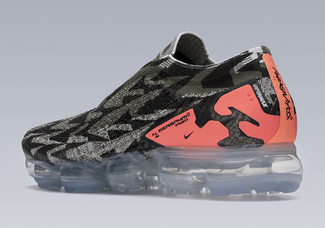Acronym x Nike Air Vapormax Moc 2 : Part 2 Release Date