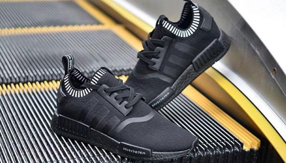 adidas NMD Runner Core Black – White