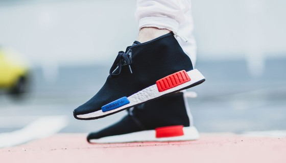 adidas NMD_C1 Black/Lush Red