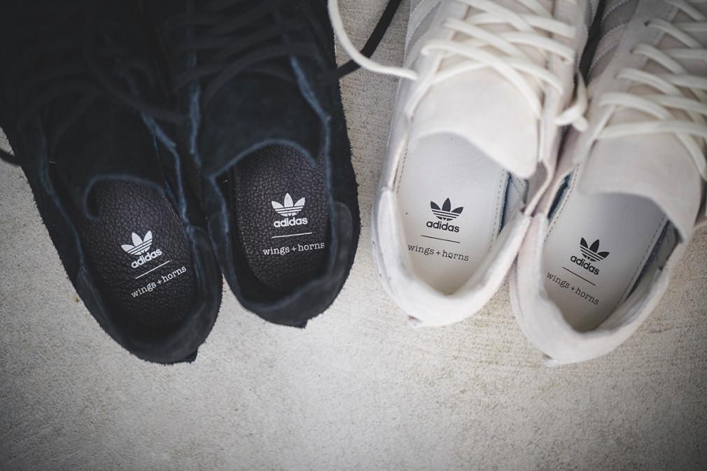 adidas Originals x Wings+Horns collaborent sur 3 sneakers 2