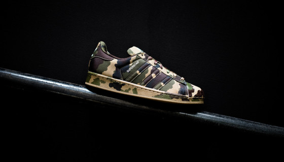 "Superstar Camo Du ""Graphic Pack"" d'adidas"