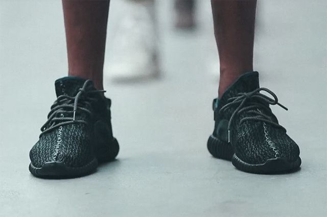 adidas Yeezy 350 Boost Low black Kanye West