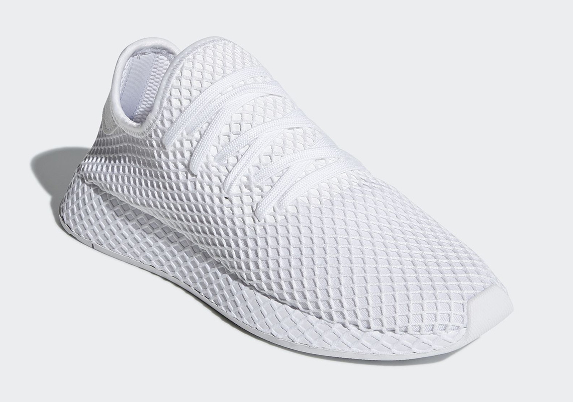 Adidas Deerupt Triple White