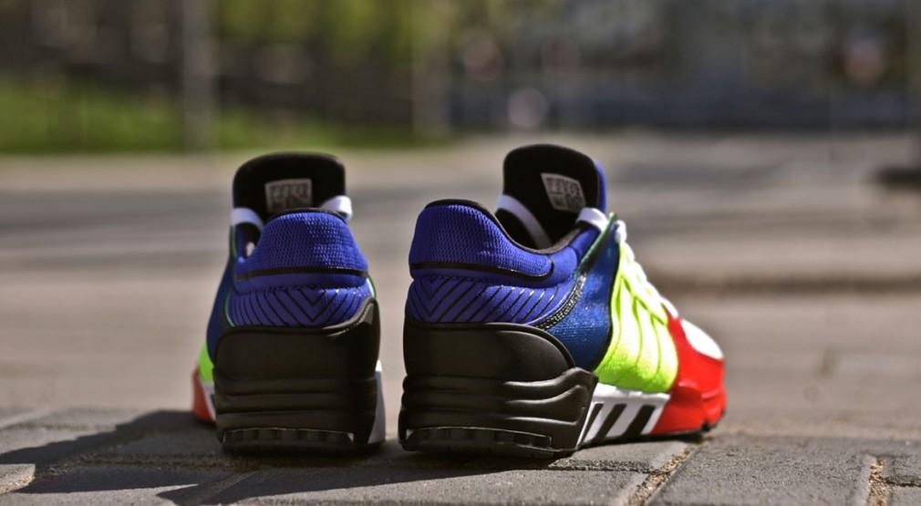 "adidas Equipment Running Support 93 ""Color Blocking"""