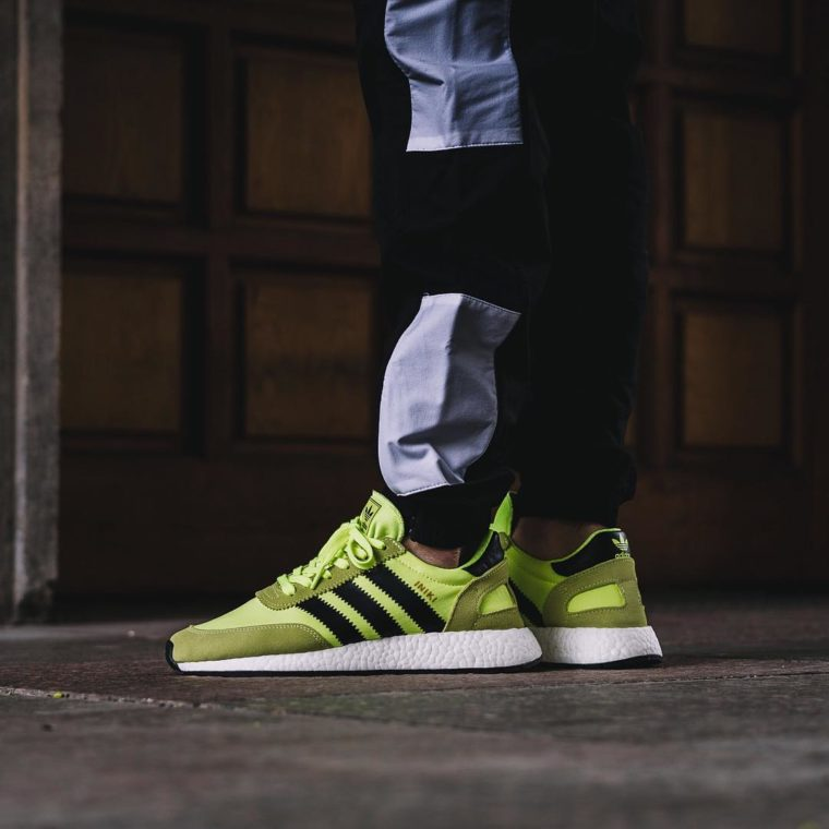Adidas Iniki Runner Boost Electric Yellow