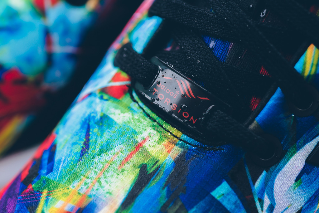 Adidas Originals ZX Flux - Blk/Blk/White