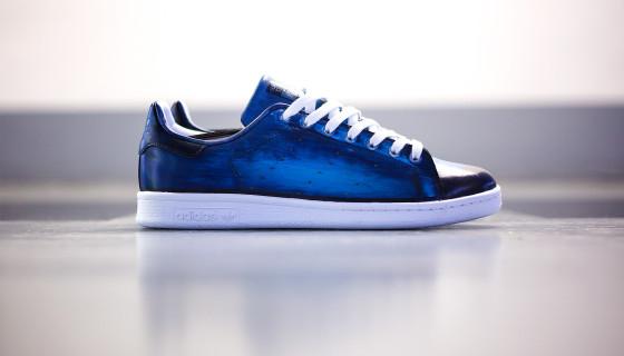 Patine du cuir pour vos sneakers par Florence Monteil